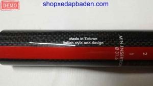 cốt yên sợi carbon 31.6mm