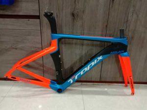 khung xe đạp đường trường tropix carbon